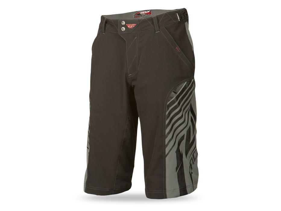 Fly Racing Super D Short (black/grey)