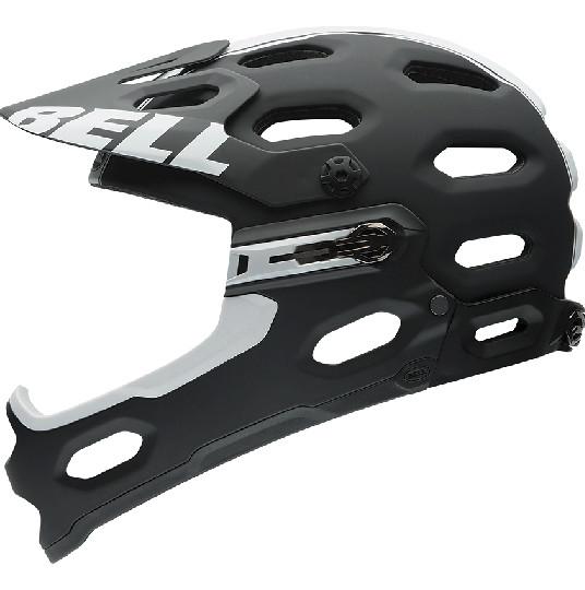 Bell Super 2R Helmet - Matte Black:White Viper