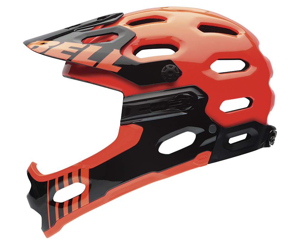 Bell Super 2R Helmet - Infrared