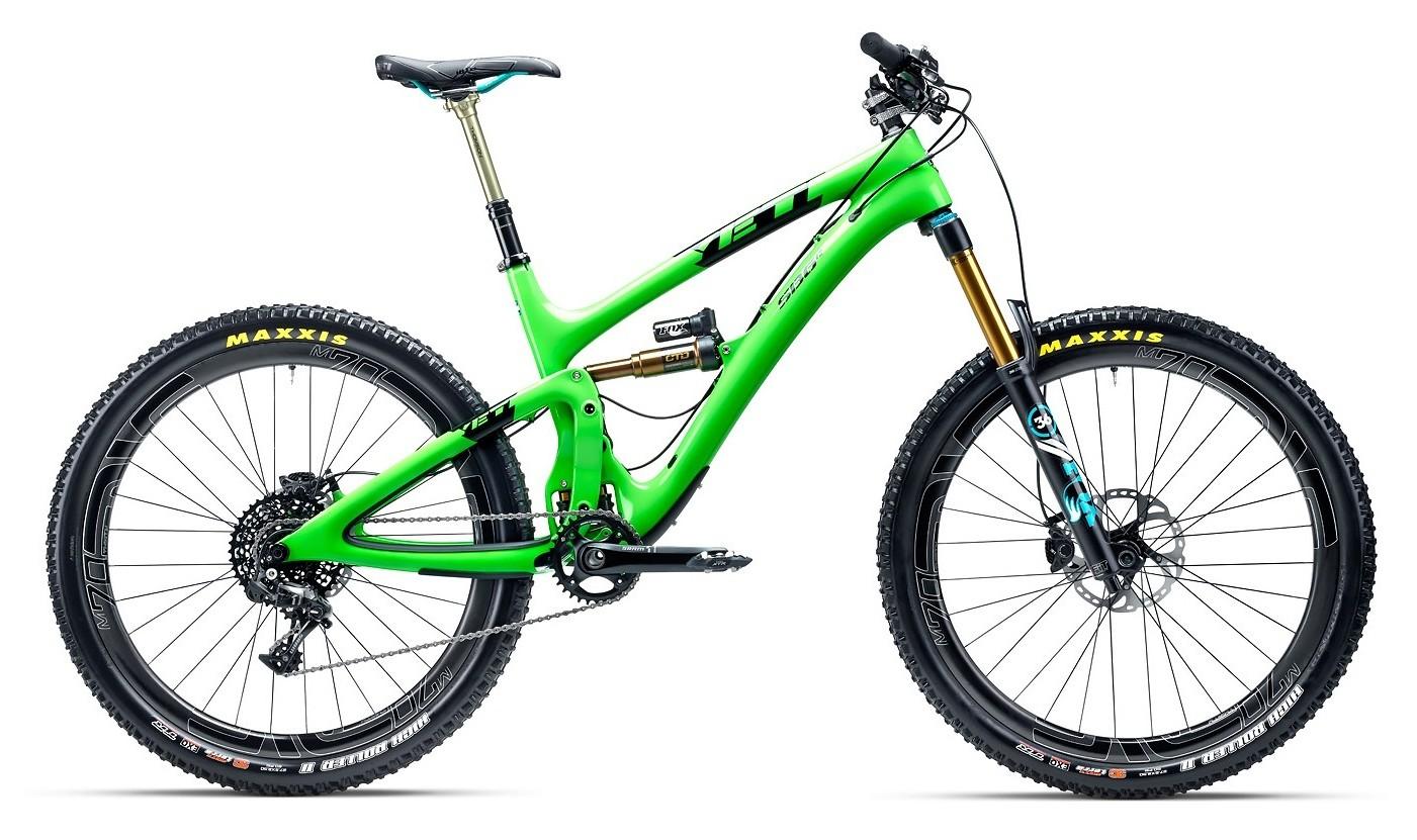 2015 Yeti SB6 Carbon - green