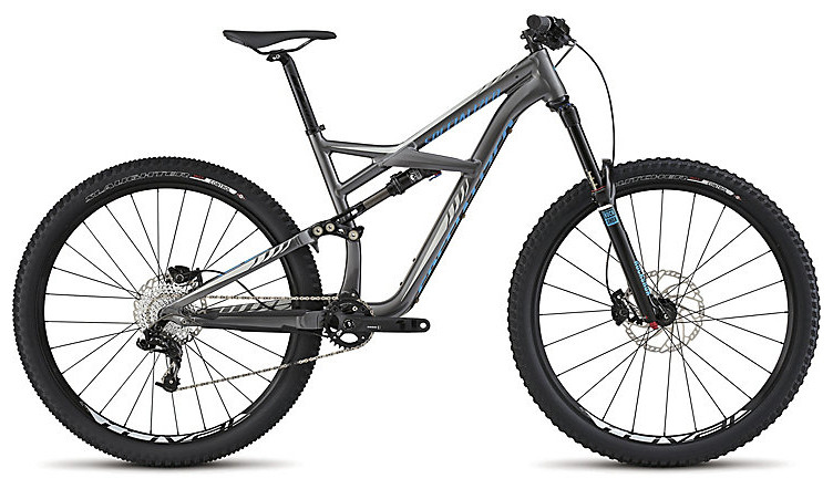 2015 Specialized Enduro Comp 29 - Gloss Charcoal:White:Cyan