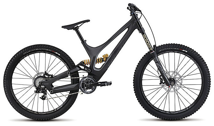 2015 Specialized Demo 8 I Carbon bike - Satin Carbon:Charcoal