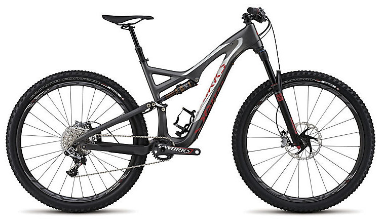 2015 Specialized S-Works Stumpjumper FSR 29 bike
