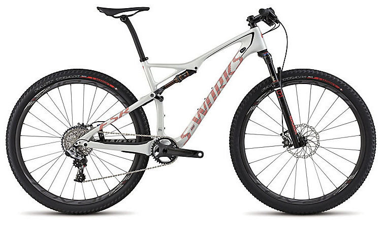 2015 Specialized S-Works Epic 29 World Cup - Gloss Dirty White:Rocket Red:Black