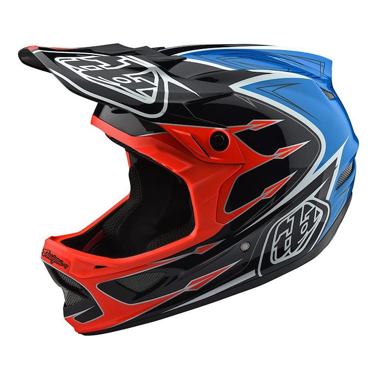 TLD D3 Composite Helmet Orange