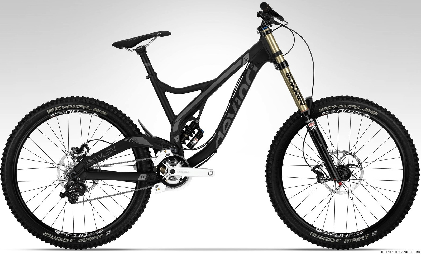 Devinci WILSON ALU:CARBON RC bike