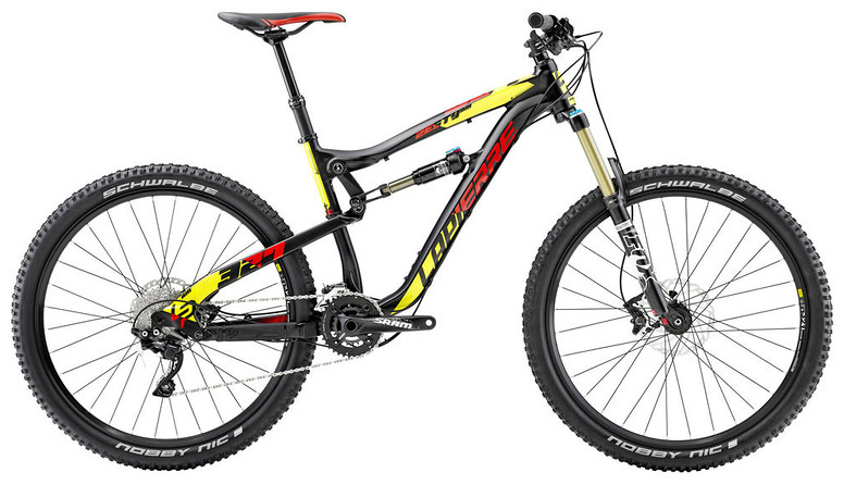 2015 Lapierre Zesty AM 327 bike