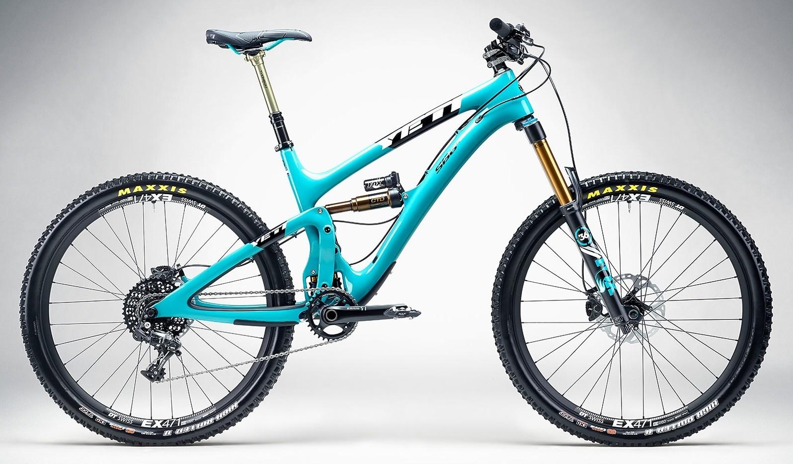Yeti SB6C with X01 - turquoise