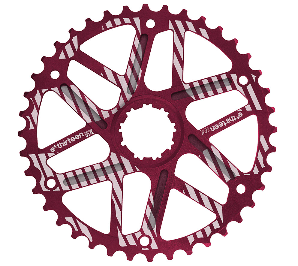 e*thirteen The Extended Range (EX) 40:42t Cog - red