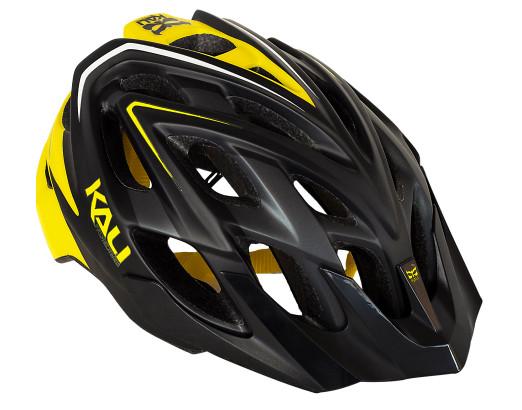 Kali Protectives Chakra Plus Helmet - matte black:yellow