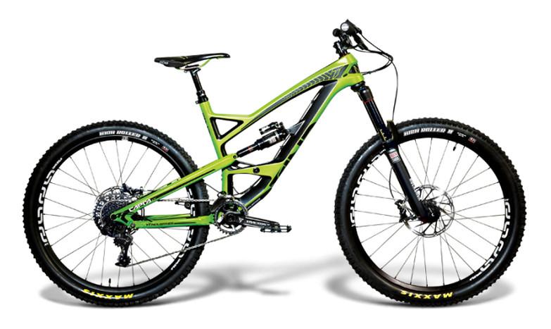 2015 YT Capra CF Comp 1, green