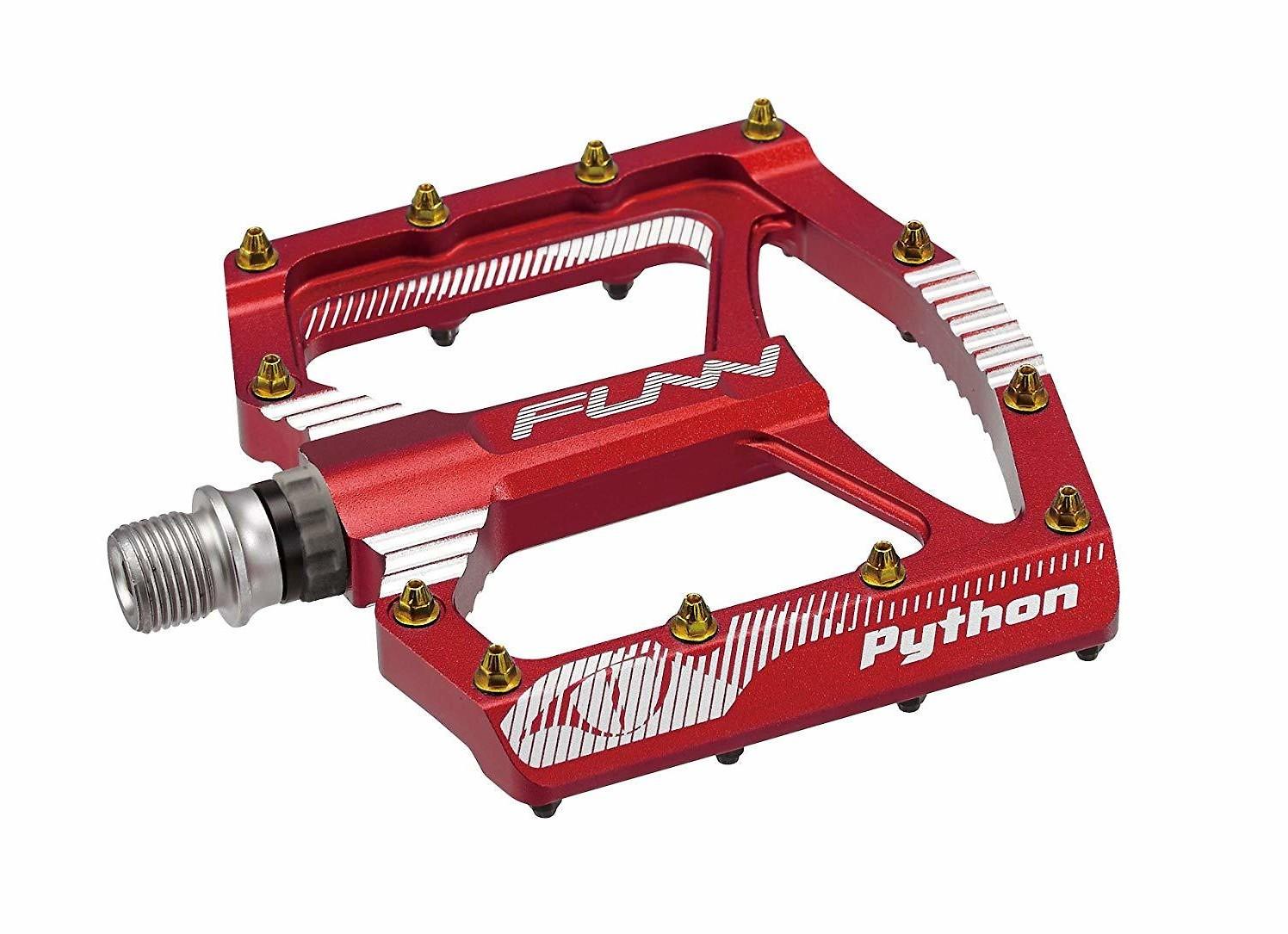 FUNN Python Flat Pedal (Red)