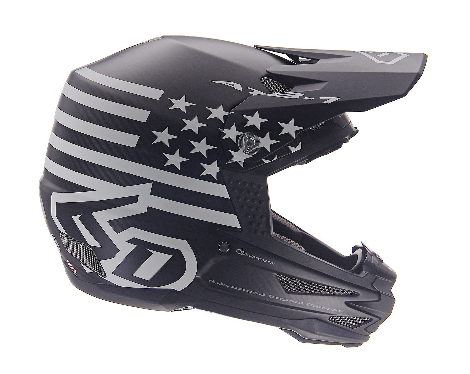 2019 6D ATB-1 DH/BMX Tactical Black Helmet