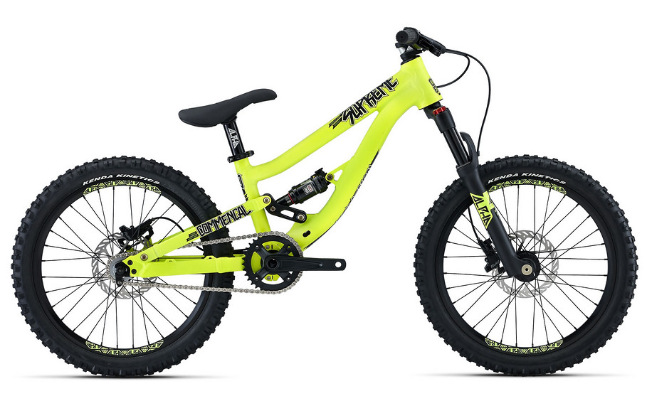 2015 Commencal Supreme 20 Yellow bike