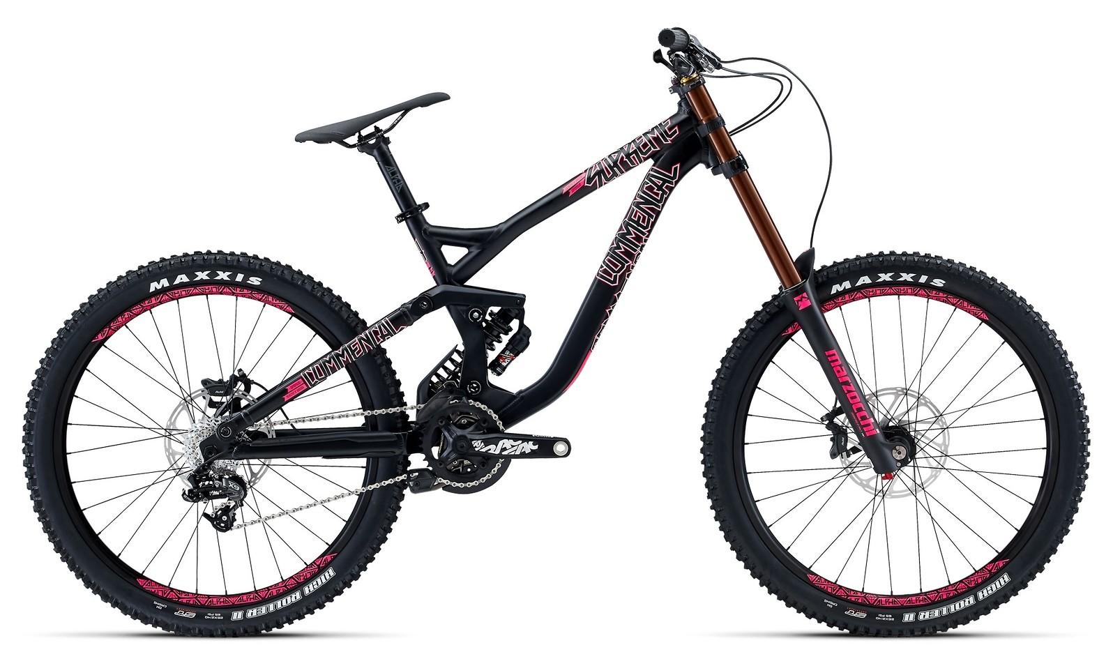 2015 Commencal Supreme DH V3 Park 26 bike