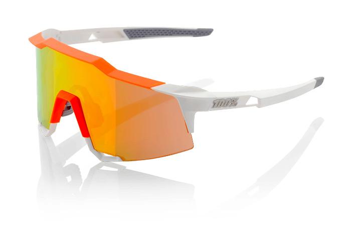 100% Speedcraft - White / Orange