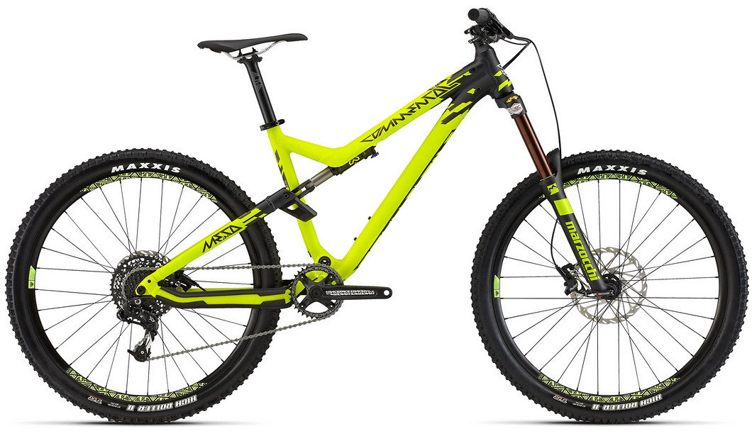 2015 Commencal Meta AM V4 Origin Plus 650b - yellow