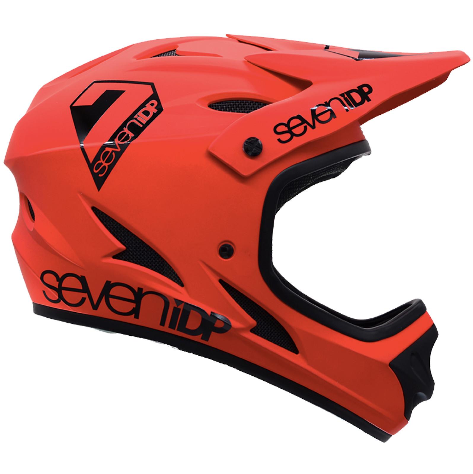 7iDP M1 Full Face Helmet - Thruster Red