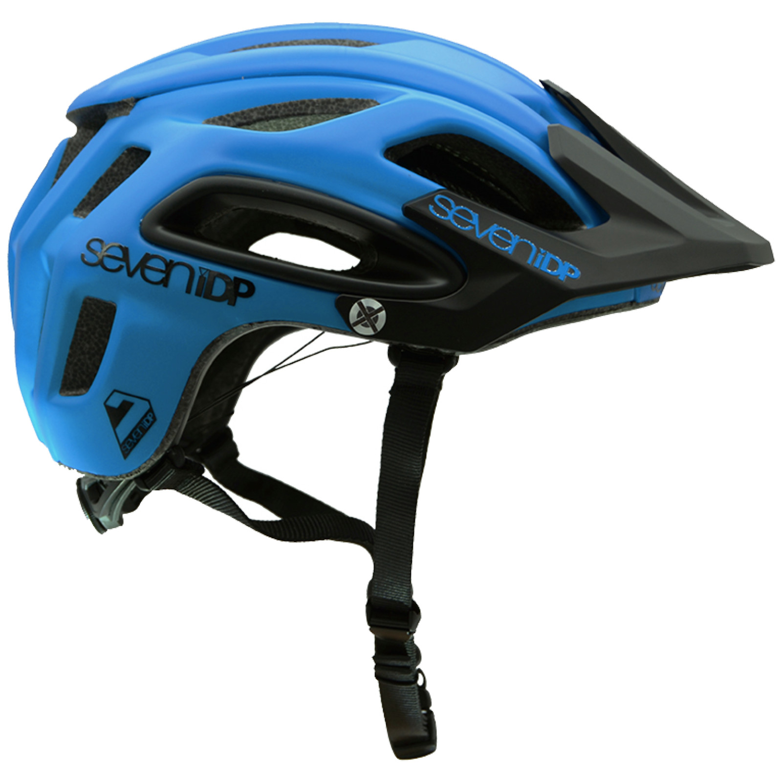 Seven 7iDP M2 MTB Bike Helmet Tactic /'Boa/' Light//Mid//Dark Red