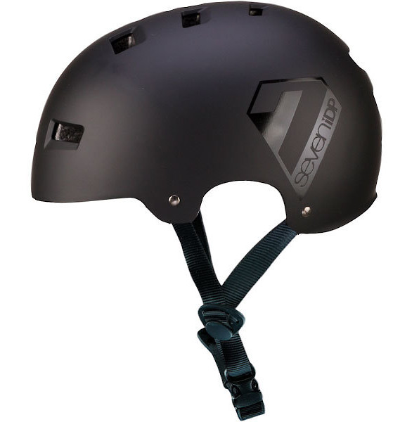 7iDP M3 Open Face Helmet - Black
