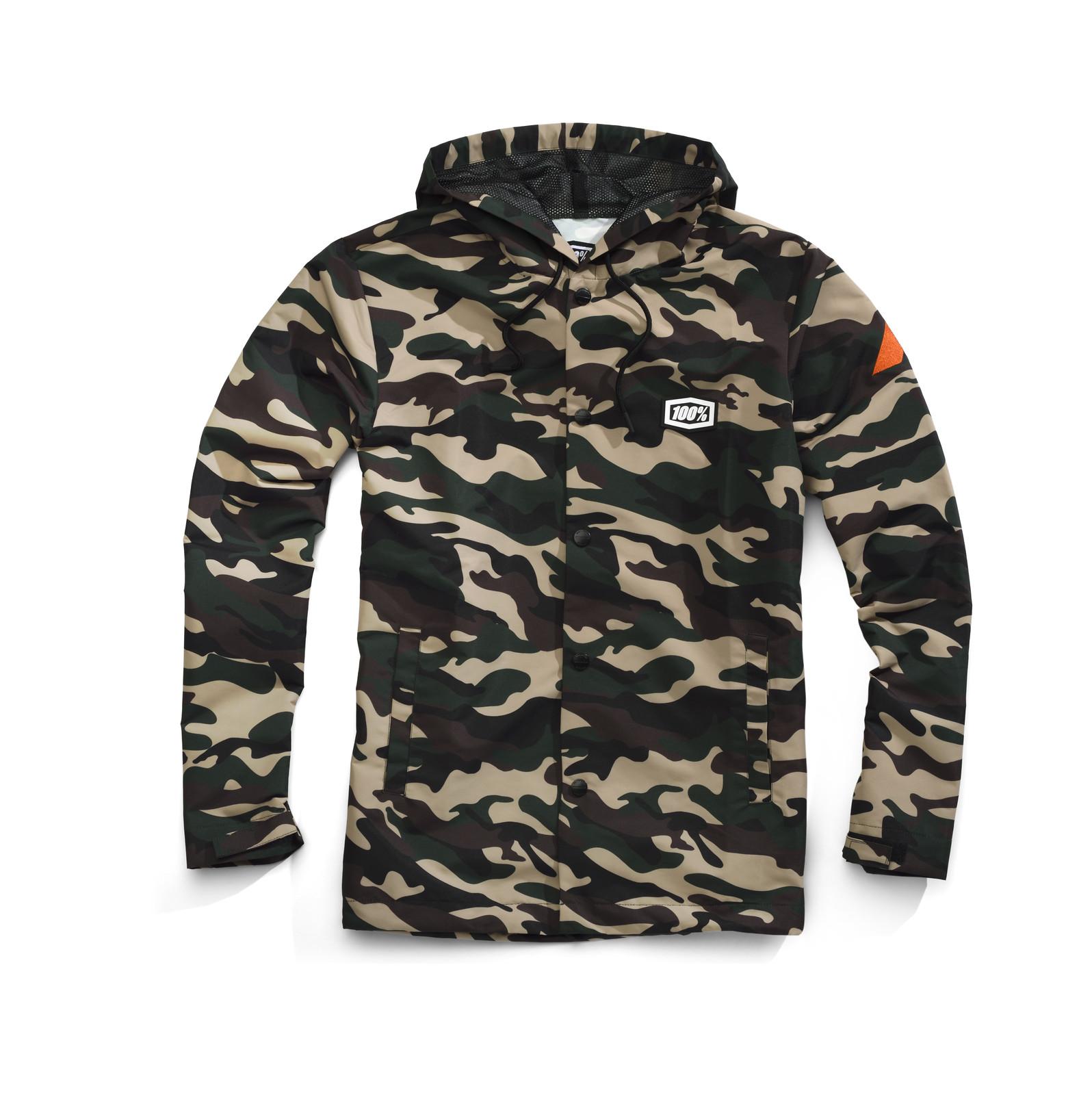 100% Apache Jacket - Camo