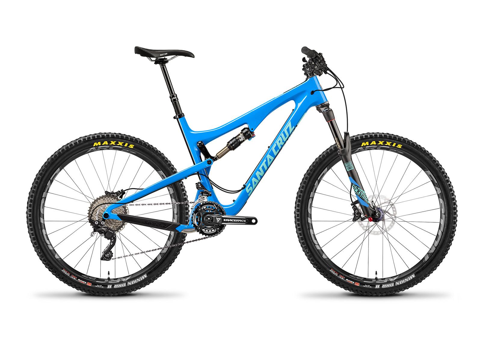 2016 santa cruz 5010 carbon cc xt bike reviews parisons specs Steam Mule my16 5 5010 xt blue