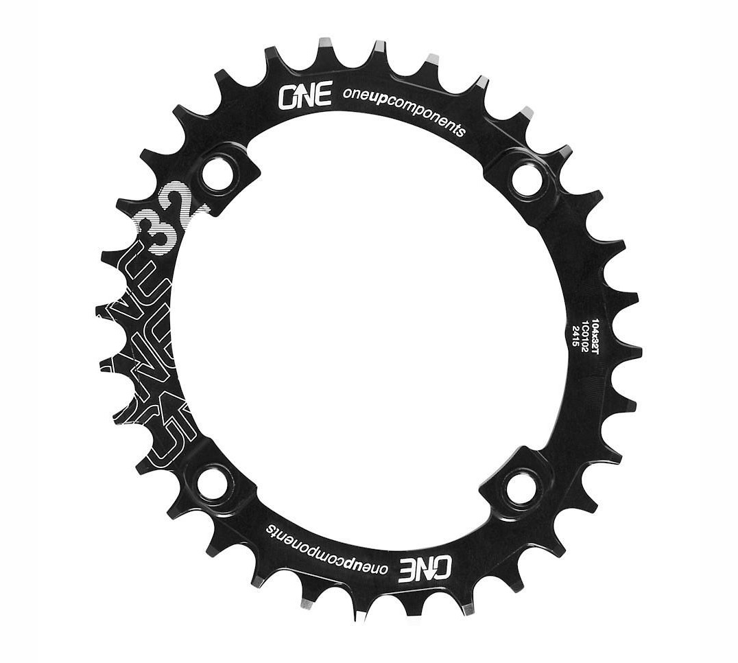 OneUp Components 104 BCD Oval Traction Chainring