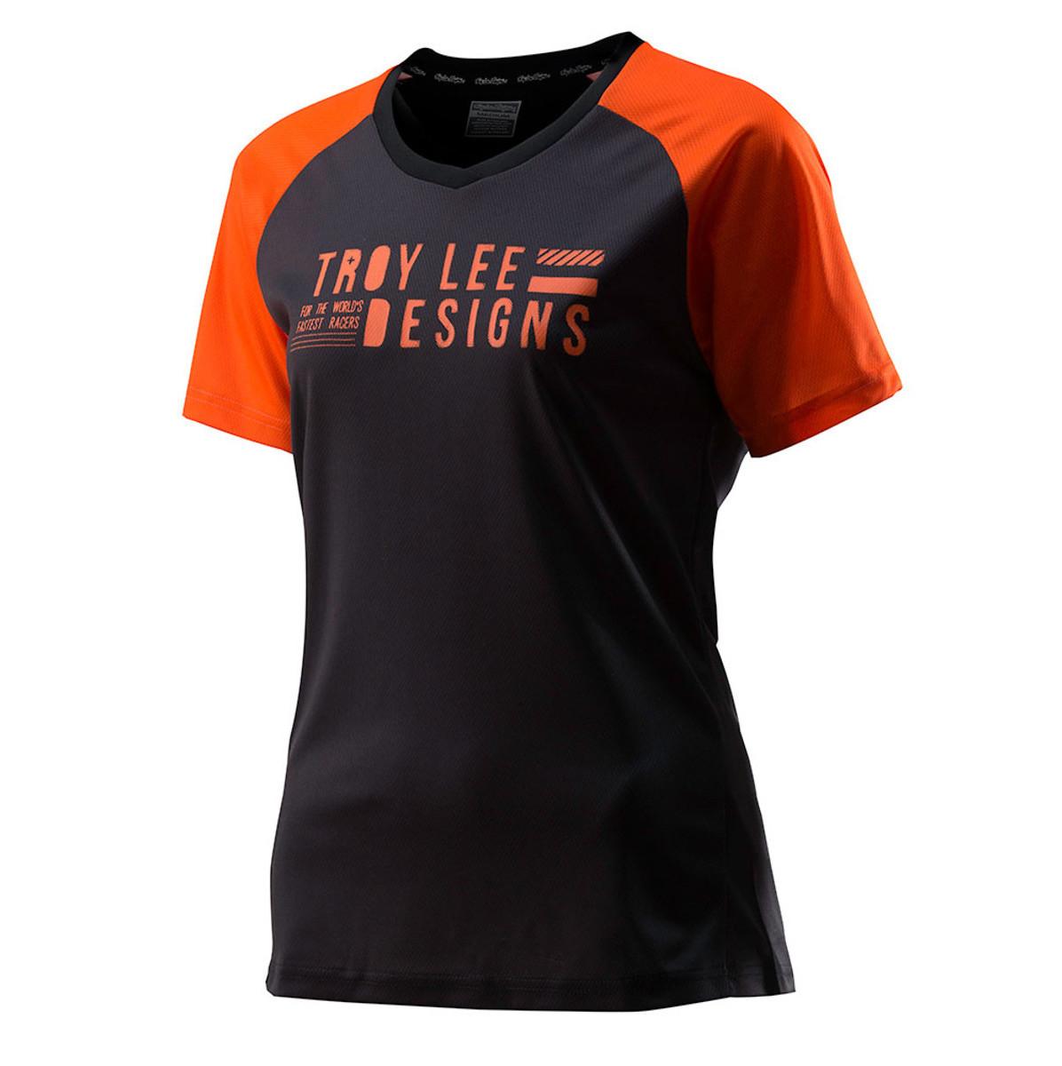 TLD Skyline Women's Jersey - Dark Gray:Orange