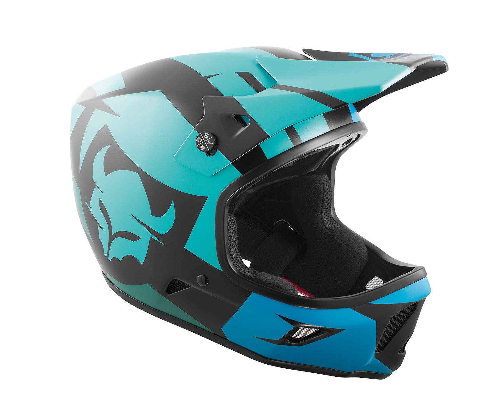 TSG Advance Helmet - Interval Green Blue