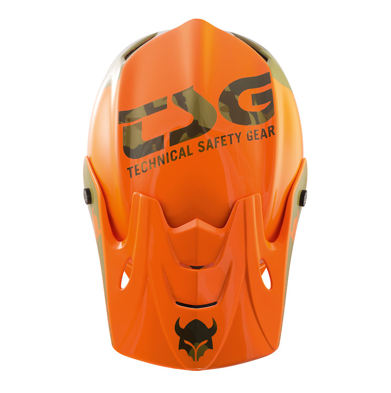 TSG Squad Helmet - Trap Acid Orange