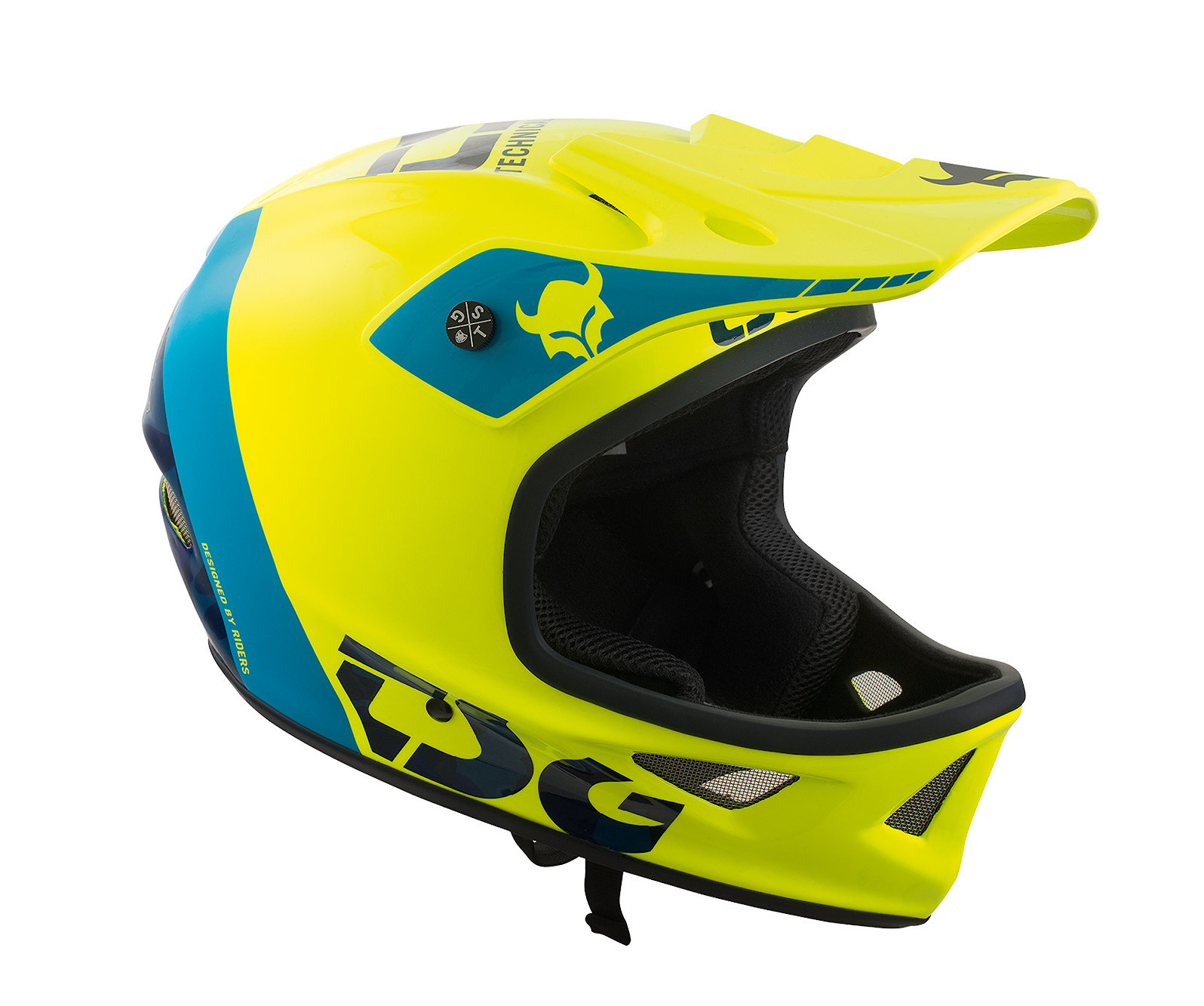 TSG Squad Helmet - Trap Acid Yellow