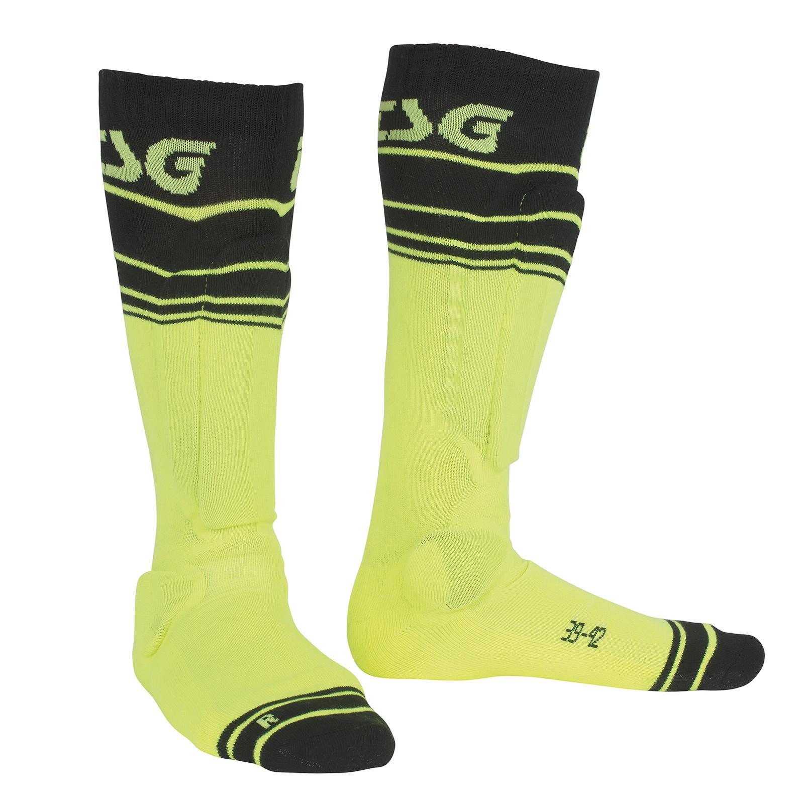 TSG Riot Sock Yellow Striped