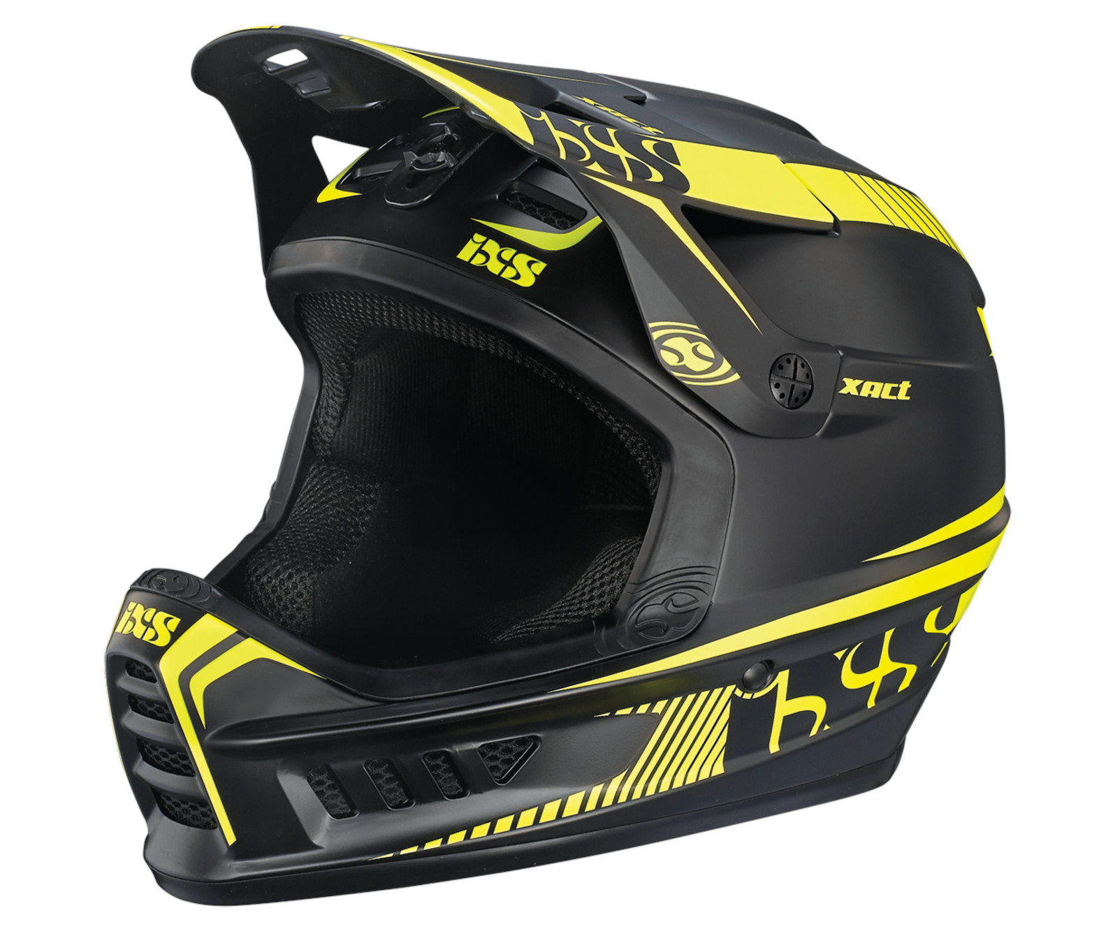 iXS XACT (Black/Lime)