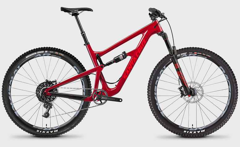 2017 Santa Cruz Hightower C S Bike (Sriracha/Red)