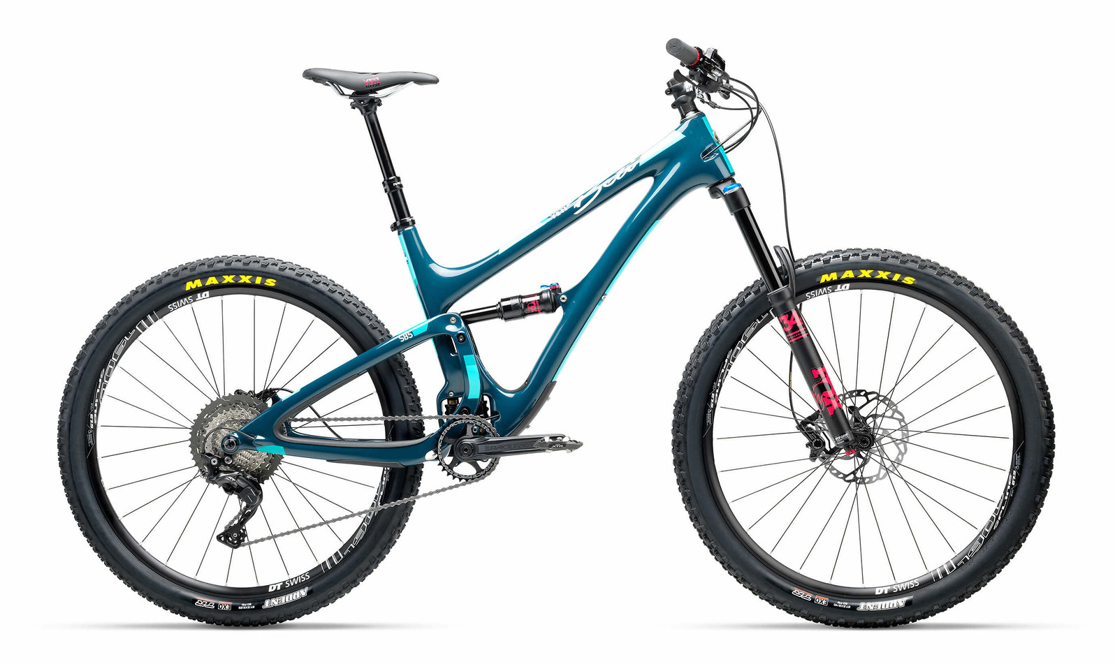 2017 Yeti Beti SB5 Carbon XT/SLX Bike (Storm)