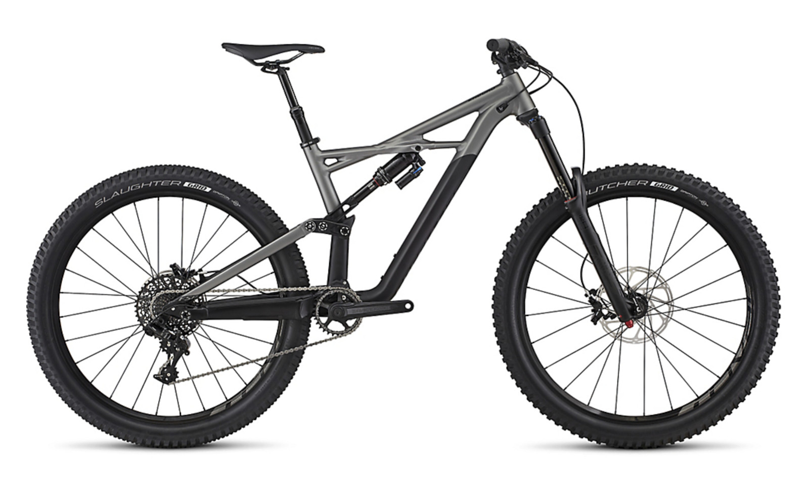 2017 Specialized Enduro Comp 650B Bike (Satin Black/Charcoal)