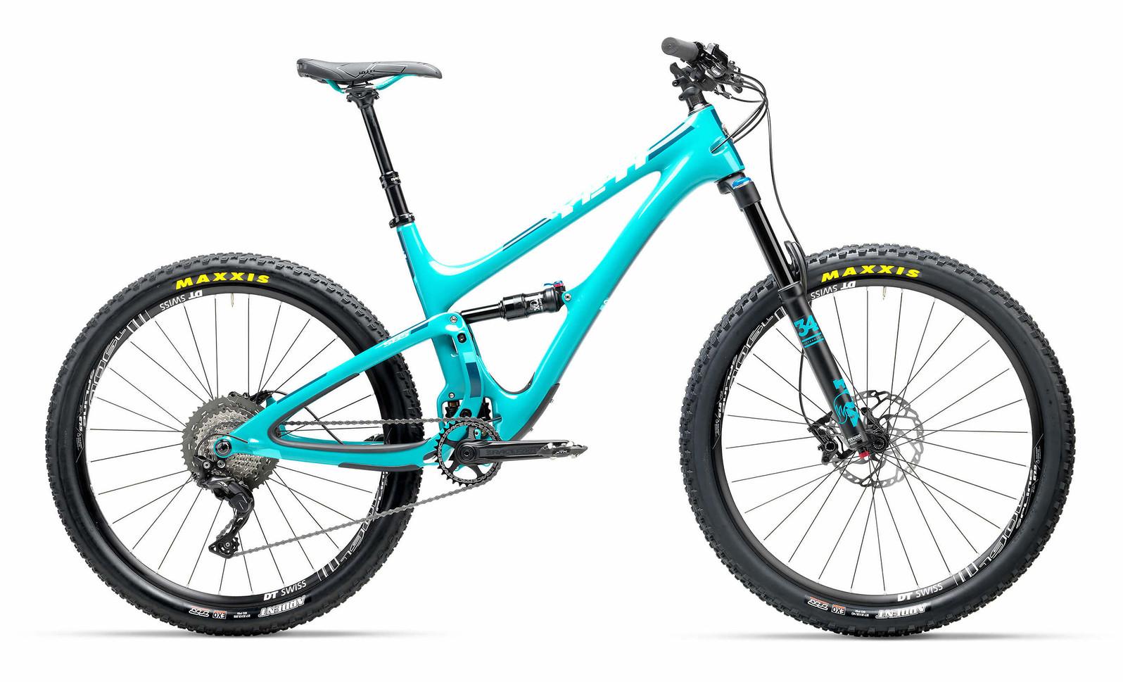 2017 Yeti SB5 Carbon XT/SLX (turquoise)