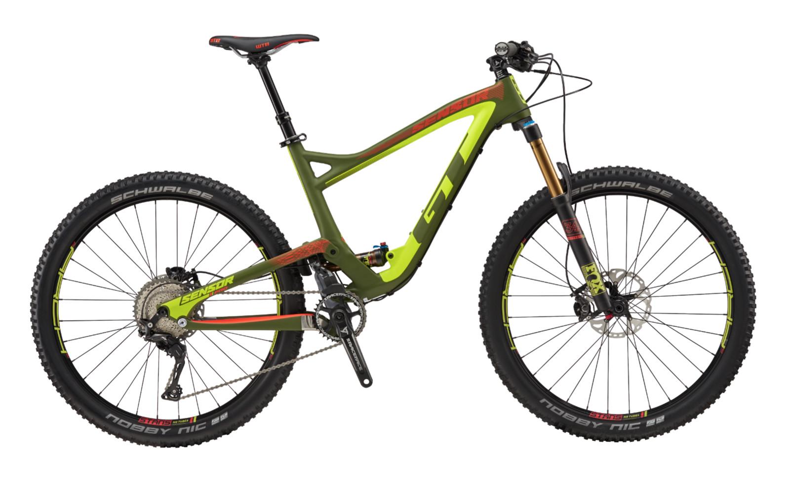 2017 GT Sensor Carbon Pro Bike