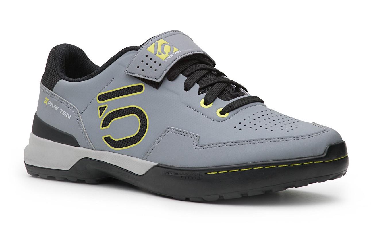 Five Ten Kestrel Lace Clipless Shoe Five Ten Kestrel Lace Shoe - onix/yellow