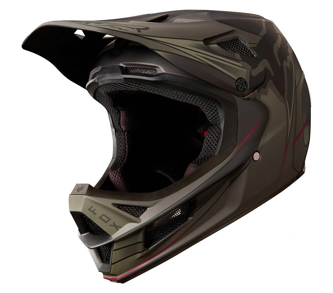 2018 Fox Racing V3 Kustm Helmet-Grey-L