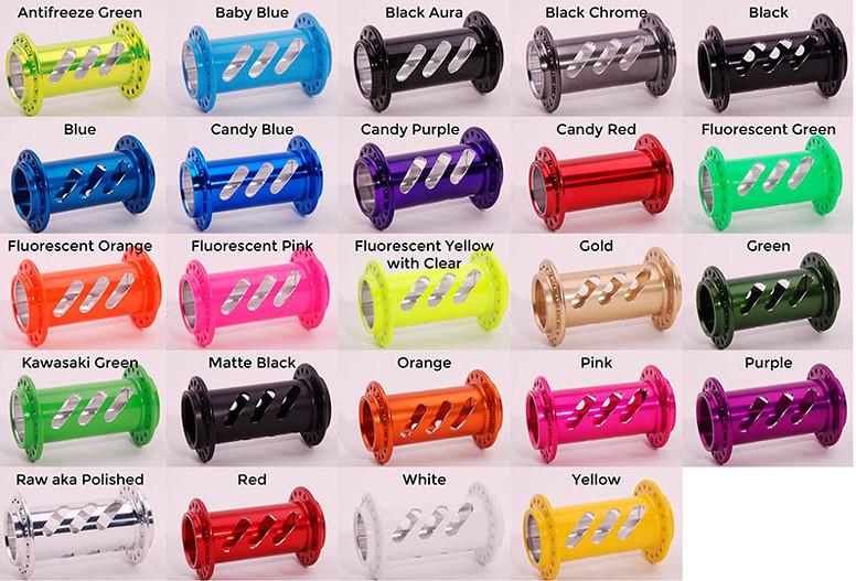 Onyx Hub Shell Colors