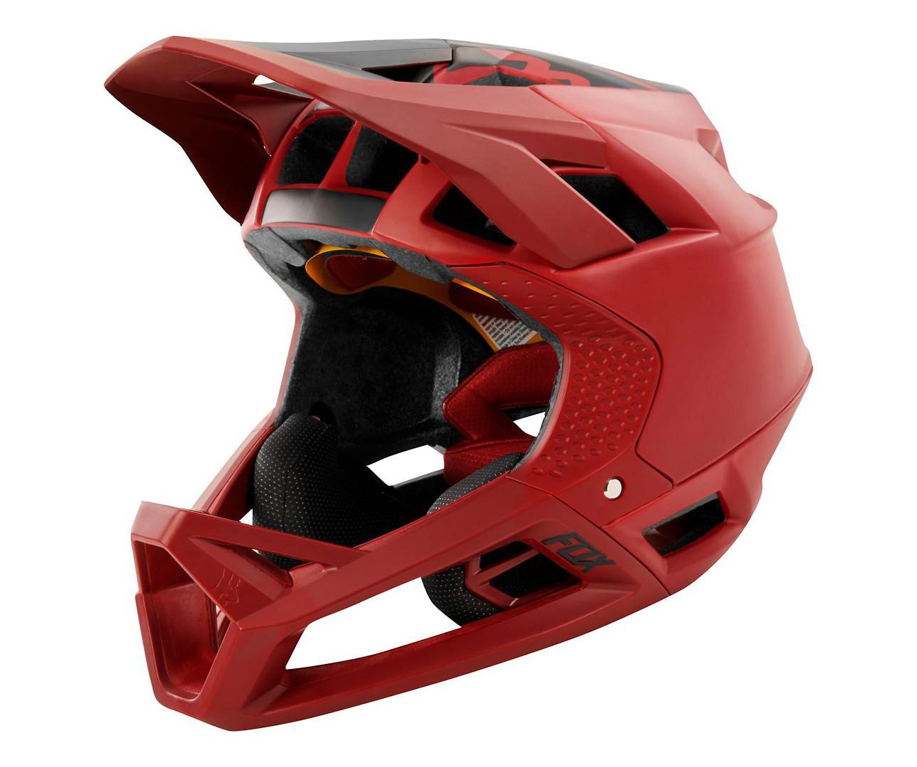 Fox SP18 Proframe Enduro//Downhill MTB Full Face Helmet Mink Midnight RRP £225