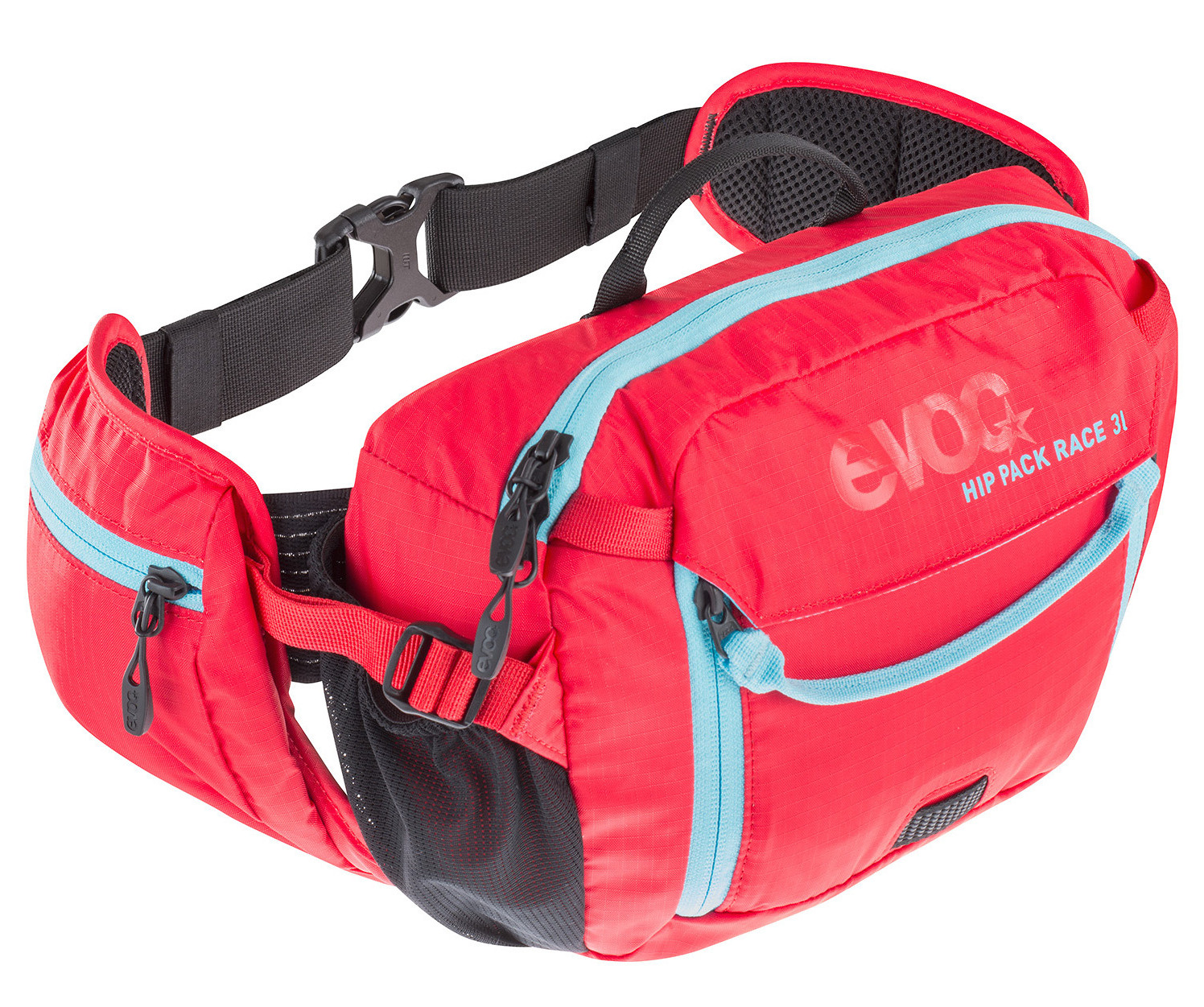 Evoc Hip Pack Race 3L (red/neon blue)