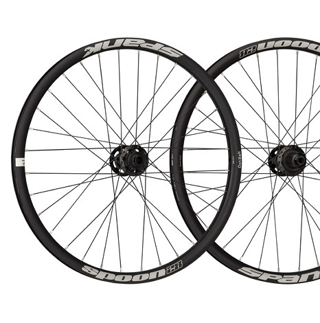 Spank Spoon 28 Wheelset (black)