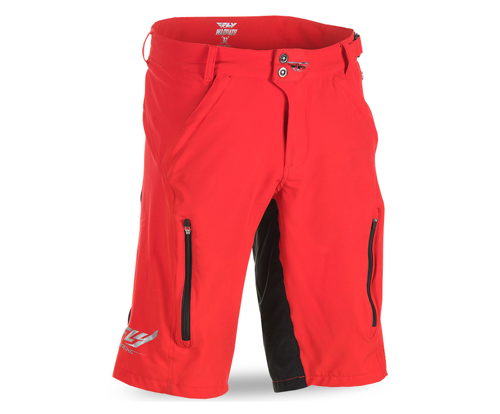 Fly Racing 2021 Men/'s Warpath Bicycle Shorts Black All Sizes