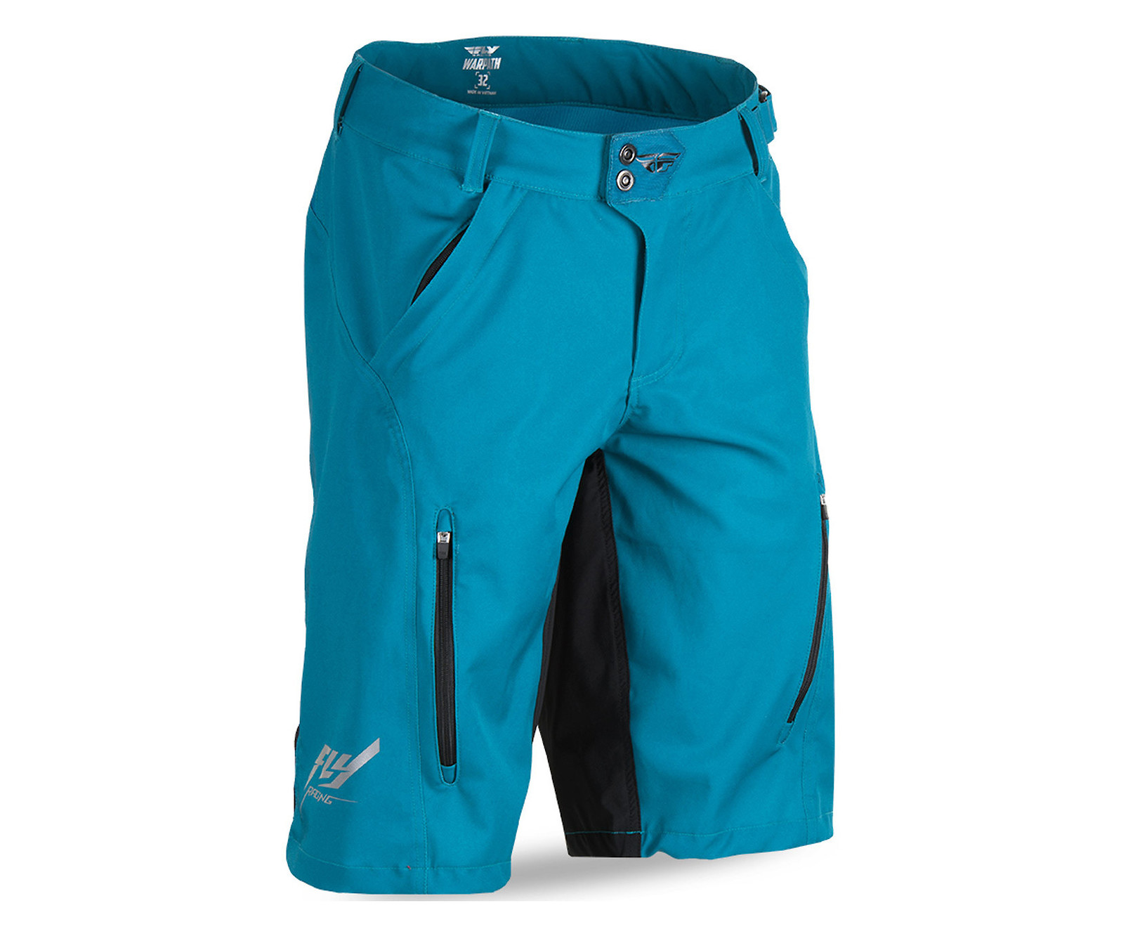 Fly Racing Warpath Short (Dark Teal/Black)