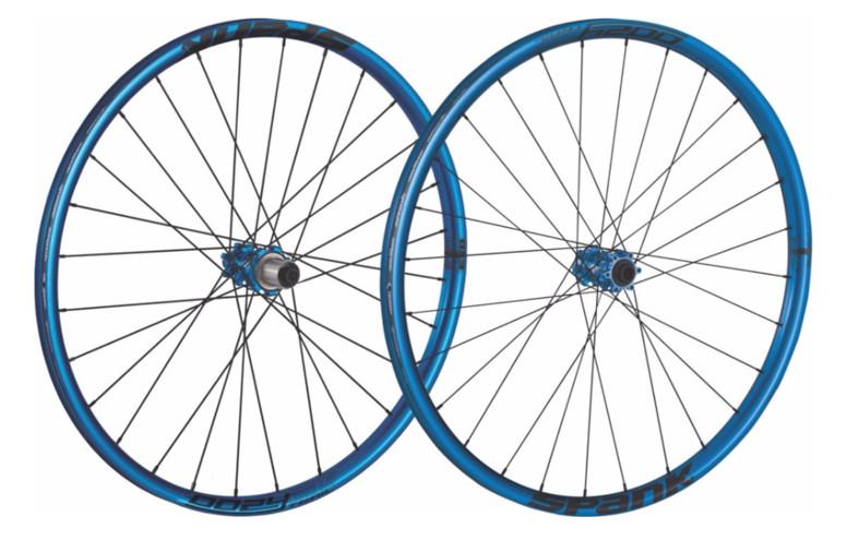 Spank Oozy Trail 295 (32 Hole) Wheelset (blue)