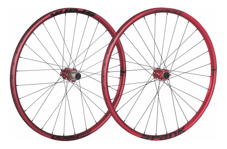 Spank Oozy Trail 295 (32 Hole) Wheelset (red)