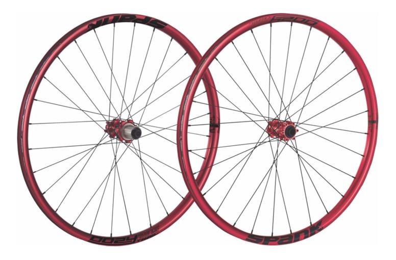 Spank Oozy Trail 295 (32 Hole) Wheelset (red)