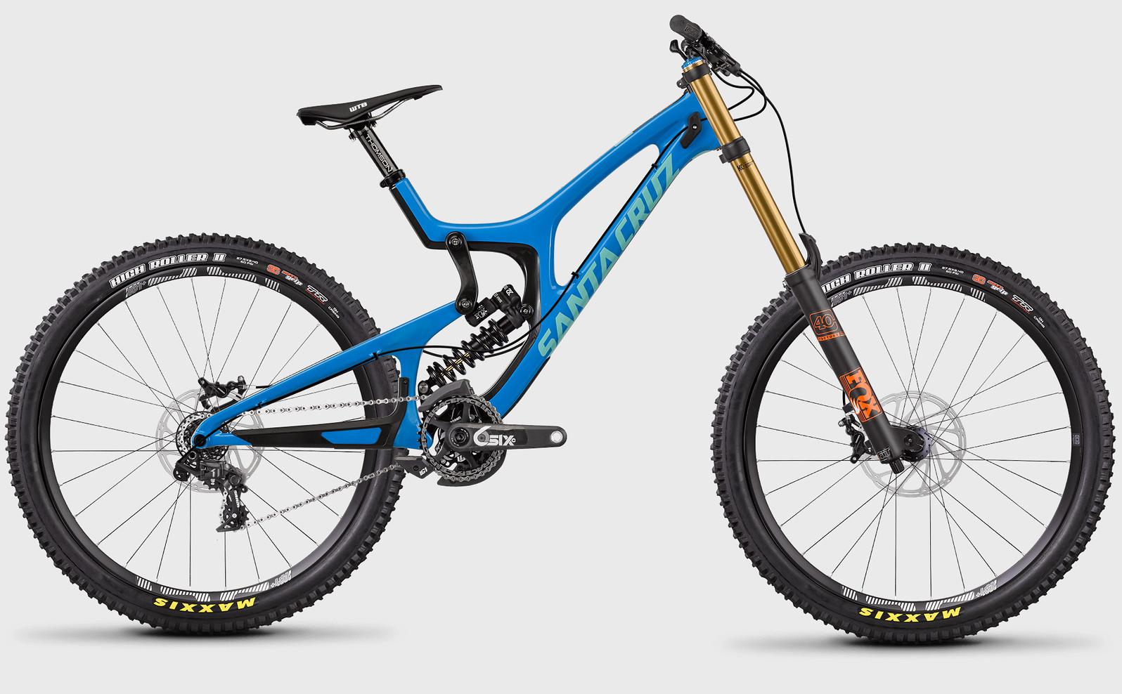 2017 Santa Cruz V10 Carbon Cc X01 Bike Reviews